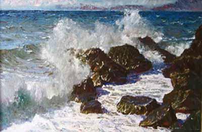 Морские пейзажи маслом